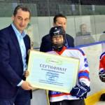 Юные хоккеисты получили подарки от компании «УРАЛХИМ»