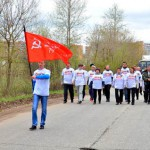 Сотрудники «ЗМУ КЧХК» приняли участие в акции «Знамя победы»