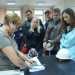 Студенты познакомились с производством ЗМУ КЧХК