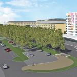 Появился проект парковки, которую построят вместо ярмарки у вокзала