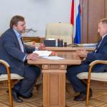 Никита Белых попросил у министра образования РФ денег на строительство школ