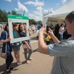 Кировчане отметили День города бумом селфи