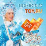 TOY. RU продолжает создавать праздничное настроение жителям столицы
